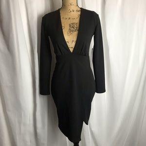 NWT Lulu's Body Con Mini Dress